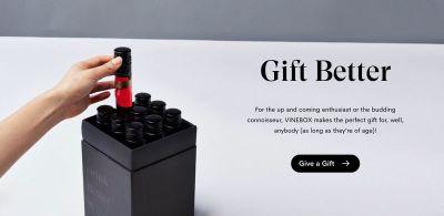 VineBox Wine Tasting Gift Box