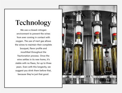 VineBox Specialized Bottling Technology