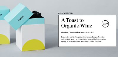 VineBox Organic Wine Tasting Box