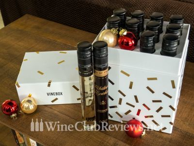 VineBox Nice 12 Nights of Wine Tasting Box 2019