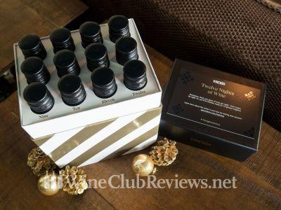 VineBox 12 Nights of Wine Tasting Box 2018