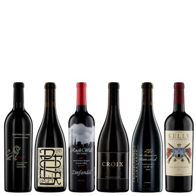 Six Bottles of 90+ Red Wine from California