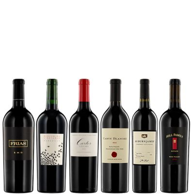 Six Bottles of 93+ Red Wine from California