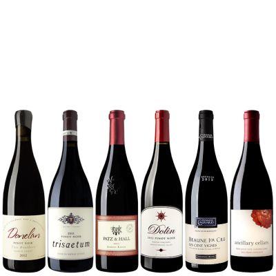 Six Bottles of Artisanal Pinot Noir from California