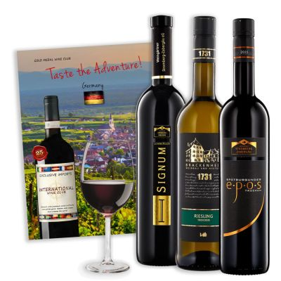 Two-Bottle International Wine Gift with Gift Box