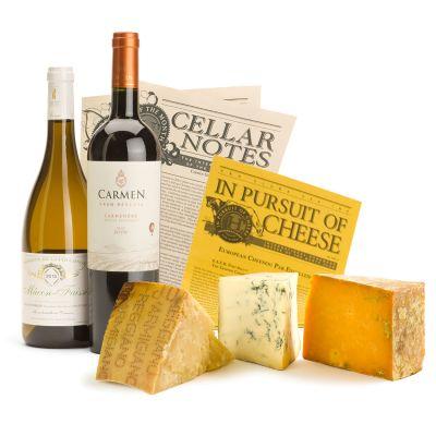 International Wine & Cheese Gift
