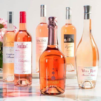Six Bottles of Rosé from Martha Stewart Wine