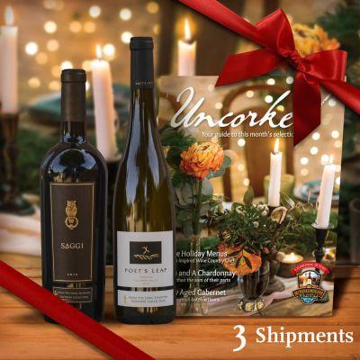 Pacific Northwest Wine Club - 3-month Gift