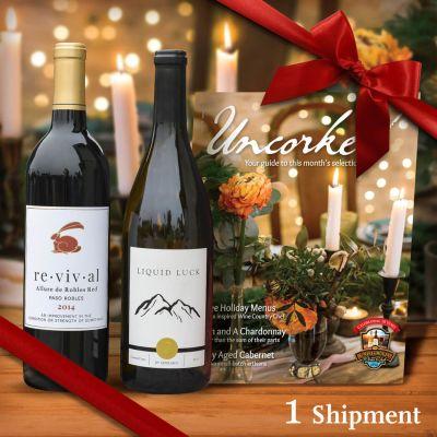 Two-Bottle California Wine Gift