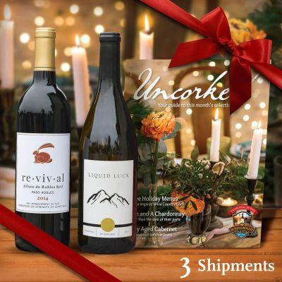 Premier Wine Club - 3-month Gift