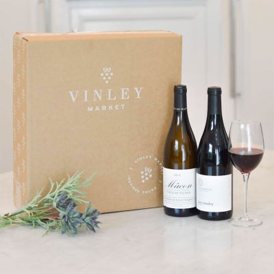 Two-Bottle Gift of Sommelier-Selected Wine