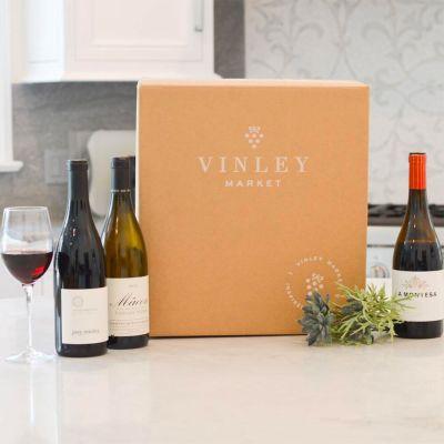 Three-Bottle Gift of Sommelier-Selected Wine