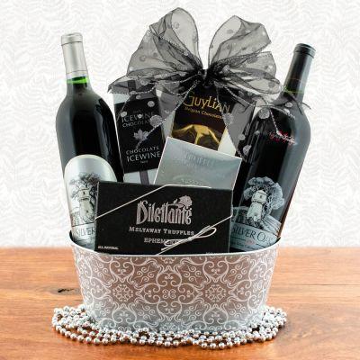 Silver Oak Gift Basket —Napa Valley & Alexander Valley Duo