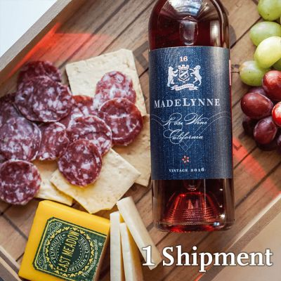 Wine, Cheese, and Salami Pairing by WineDownBox