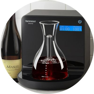 iSommelier Smart/Digital Decanter at Wine Enthusiast