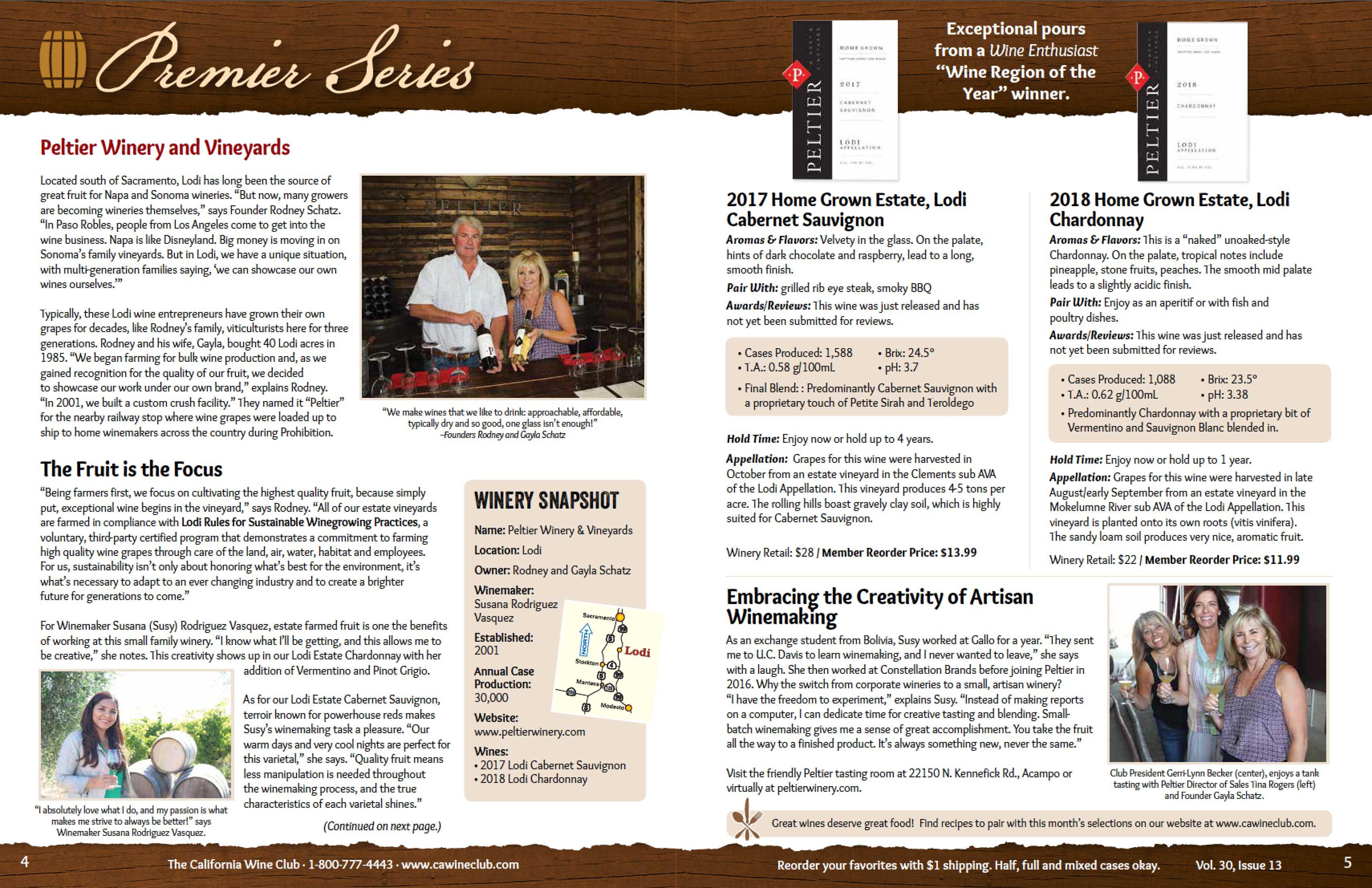 Uncorked wine magazine