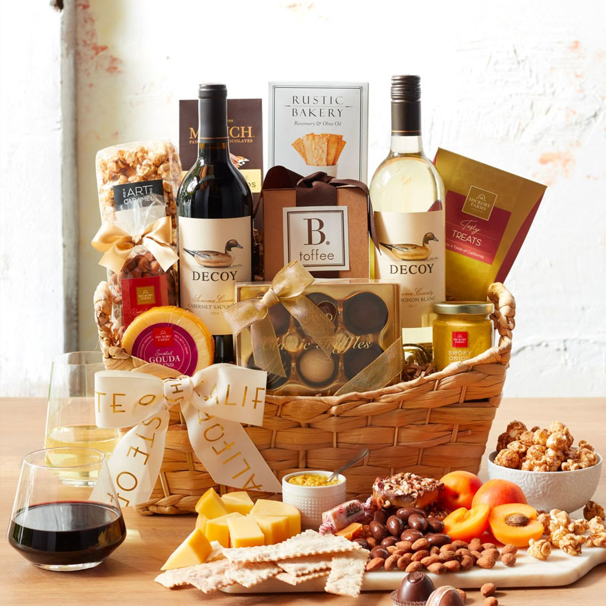 Wine & Cheese Gifts for Wine Lovers