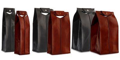 IWA Wine exclusive leather wine totes