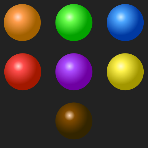 Dream Spheres Gradients