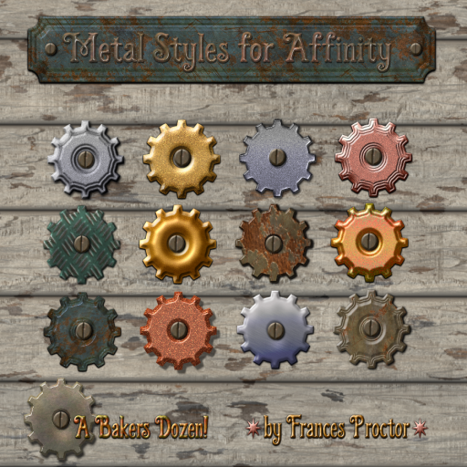 Metal Styles for Affinity