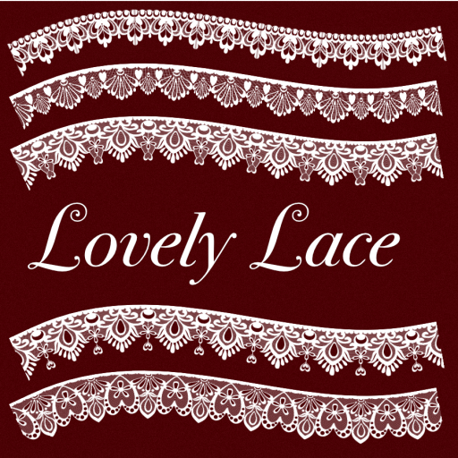 Lovely Lace Brushes Designer 1.7 promo image