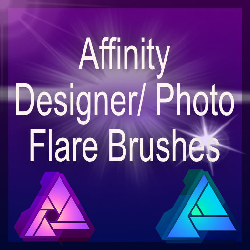 Affinity Flare Brush set