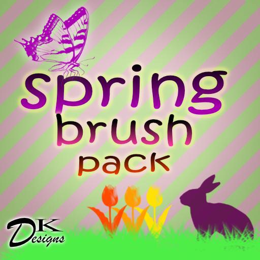 10 Spring  Stamp Brushes