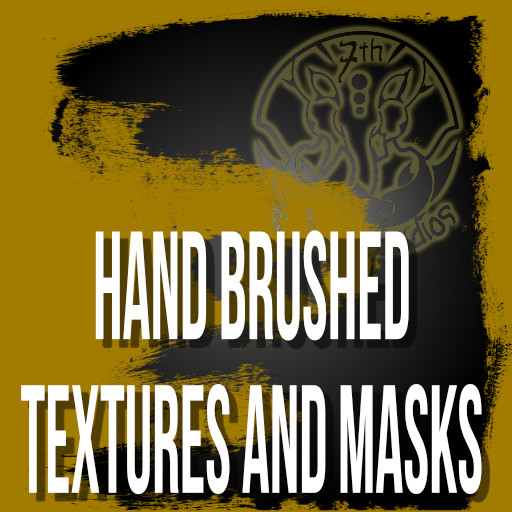Hand Brushed Textures and Masks promo image