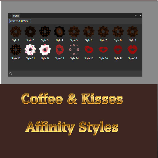 Coffee & Kisses Affinity Styles Set
