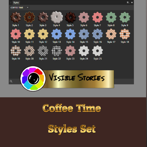 Coffee Time Style Set