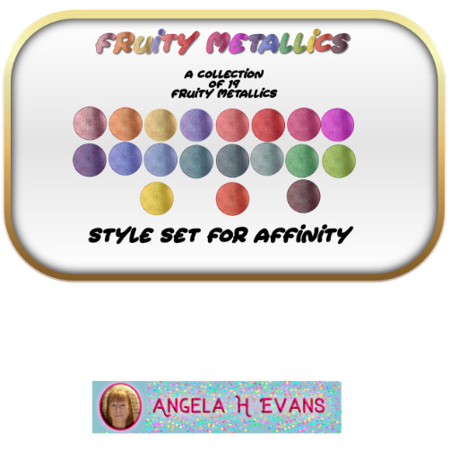 Fruity Metallic Styles for Affinity