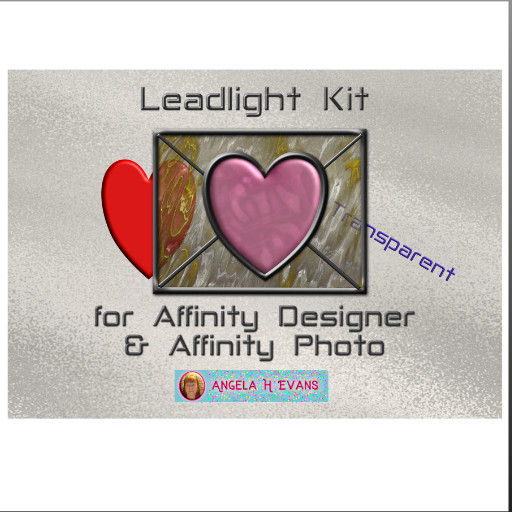 Leadlight Designers Kit for Affinity
