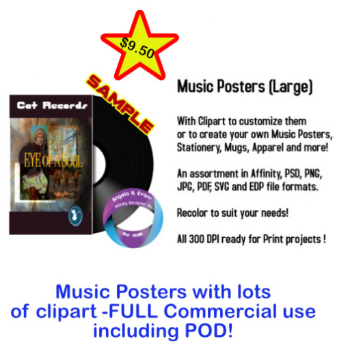 Music Posters with Extras