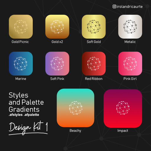 Design Gradients Kit 1