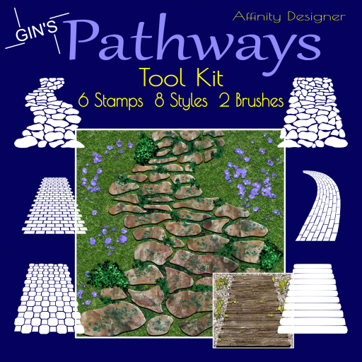 Gin's Affinity Designer Pathways Tool Kit
