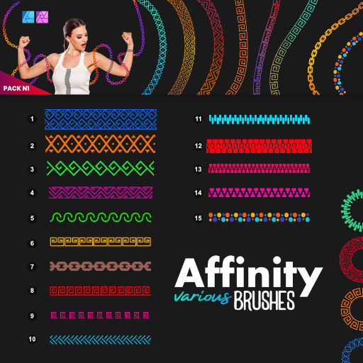 Affinity Var Brushes [Pack N1]