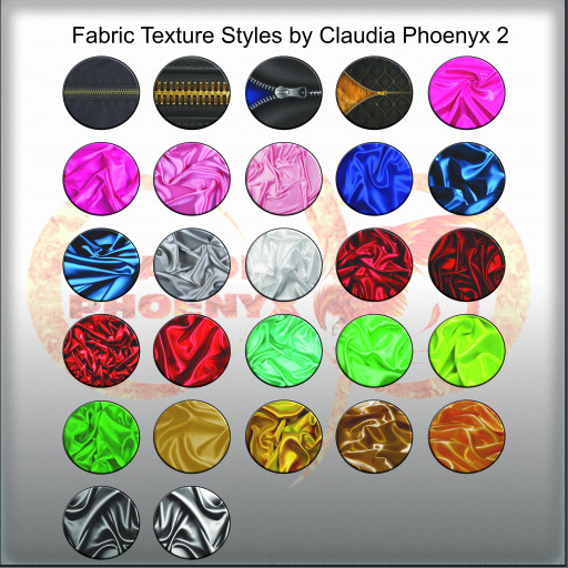 Fabric Texture Styles by Claudia Phoenyx 2