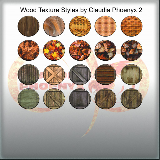 Wood Texture Styles by Claudia Phoenyx 2
