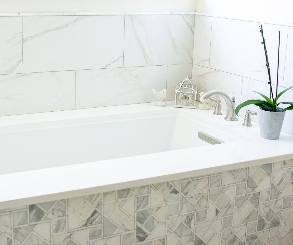 Brand new bathtub