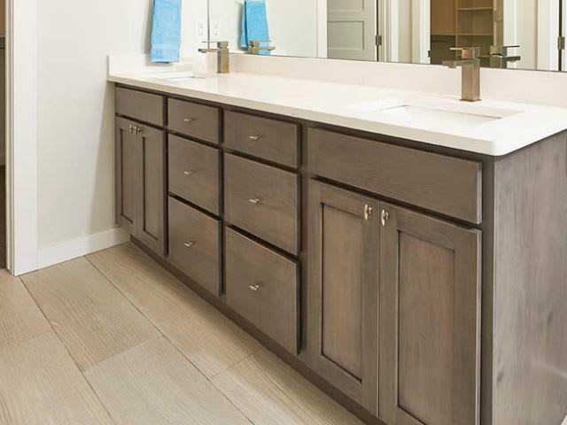 Starmark Cabinets in Bathroom