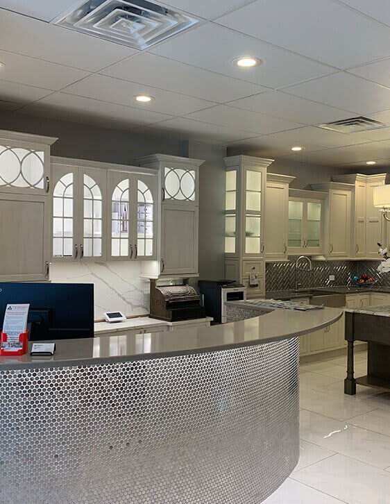 Affordable Interiors' Home Remodeling Showroom in Downtown Grayslake
