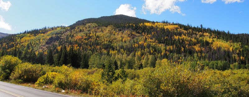 Hidden Valley was bursting with autumn color on September 20.