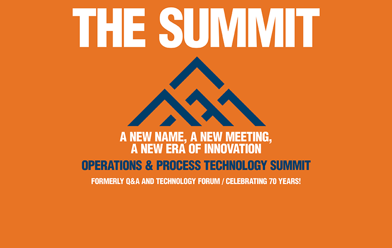 Operations & Process Technology Summit