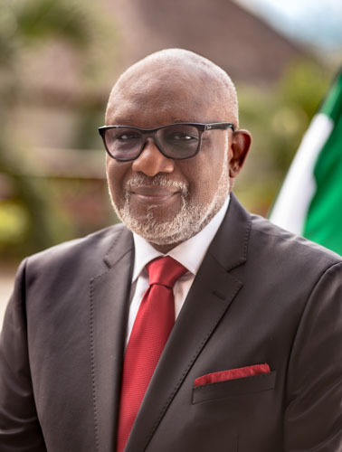 Executive Governor of Ondo State Oluwarotimi Oduanyo Akeredolu SAN