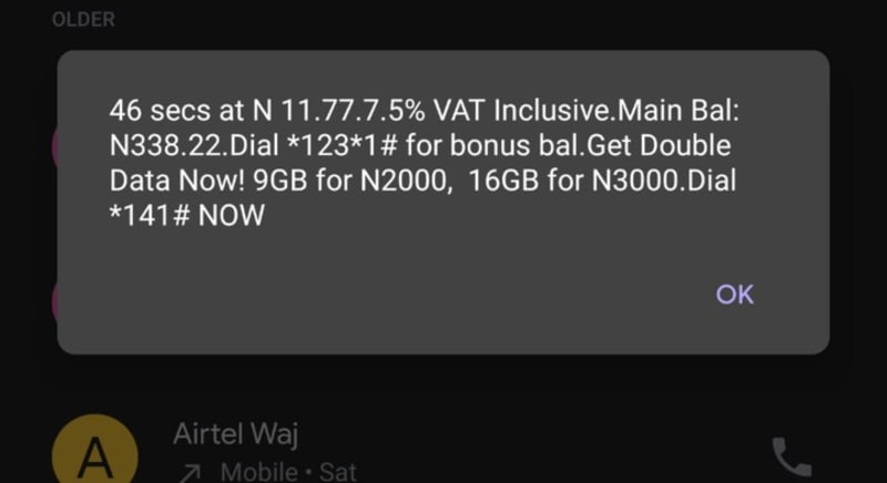 MTN Now Charges 7.5% Vat On Every Call Made