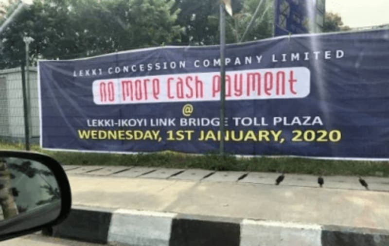 No More Cash Payment At Lekki Toll From 2020