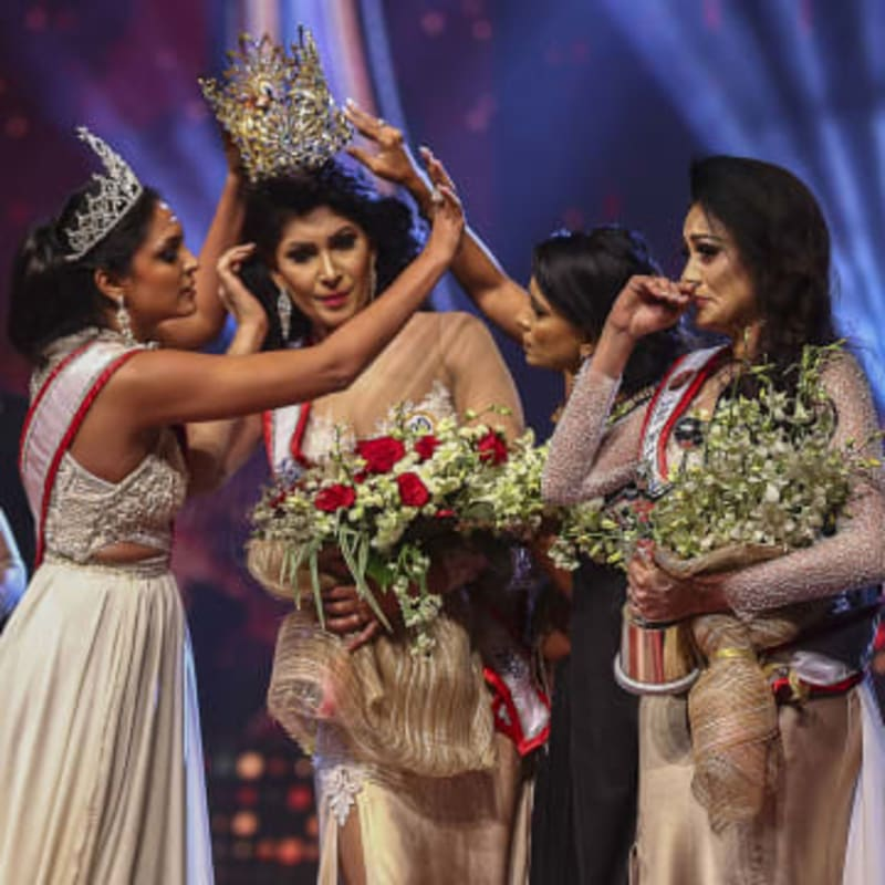 Mrs. Sri Lanka Pageant Controversy: Former Title Holder Snatches Winner's Crown