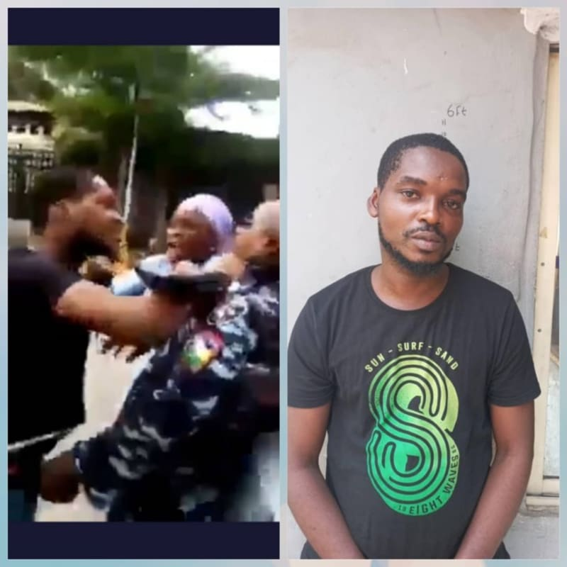Nigerians Raise ₦500,000 For Armed Lagos Policeman Assaulted By Civilian