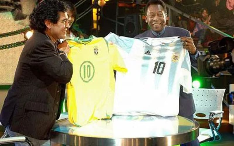 Pele, Cristiano Ronaldo, Messi And Kanu And Others Lead Tributes To Maradona