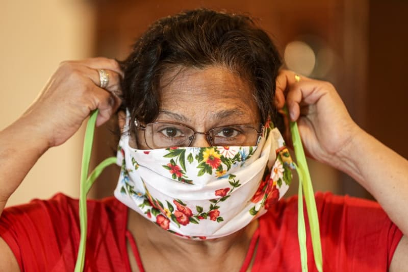 CDC Urges Americans To Wear Face-Masks  To Fight The Coronavirus
